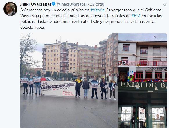 EL PP y COVITE utilizan fotos de 2017 para criminalizar los actos en solidaridad por la muerte de Oier Gomez