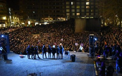 El Movimiento Feminista se movilizará en Gasteiz en solidaridad con el Pueblo Andaluz