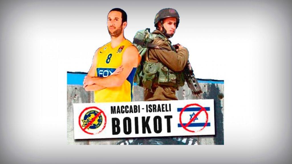 """Sergio Garcia (BDZ Gasteiz): """"Maccabi Israelgo Estatuaren Apartheid erregimenaren ordezkari bat da"""""""