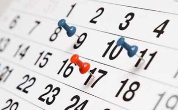 Derechos laborales | Calendarios de trabajo