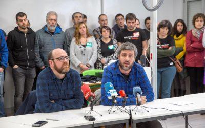 """Joseba Zengotitabengoa (LHko irakaslea): """"Bigarren mailako irakasletzat tratatzen gaituzte"""""""