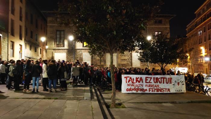 TALKA convoca una manifestación para denunciar el desalojo por la fuerza del espacio feminista