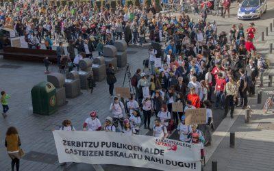 La comunidad escaladora de Gasteiz da por perdida la temporada 2018-2019 tras siete meses sin rocódromos municipales
