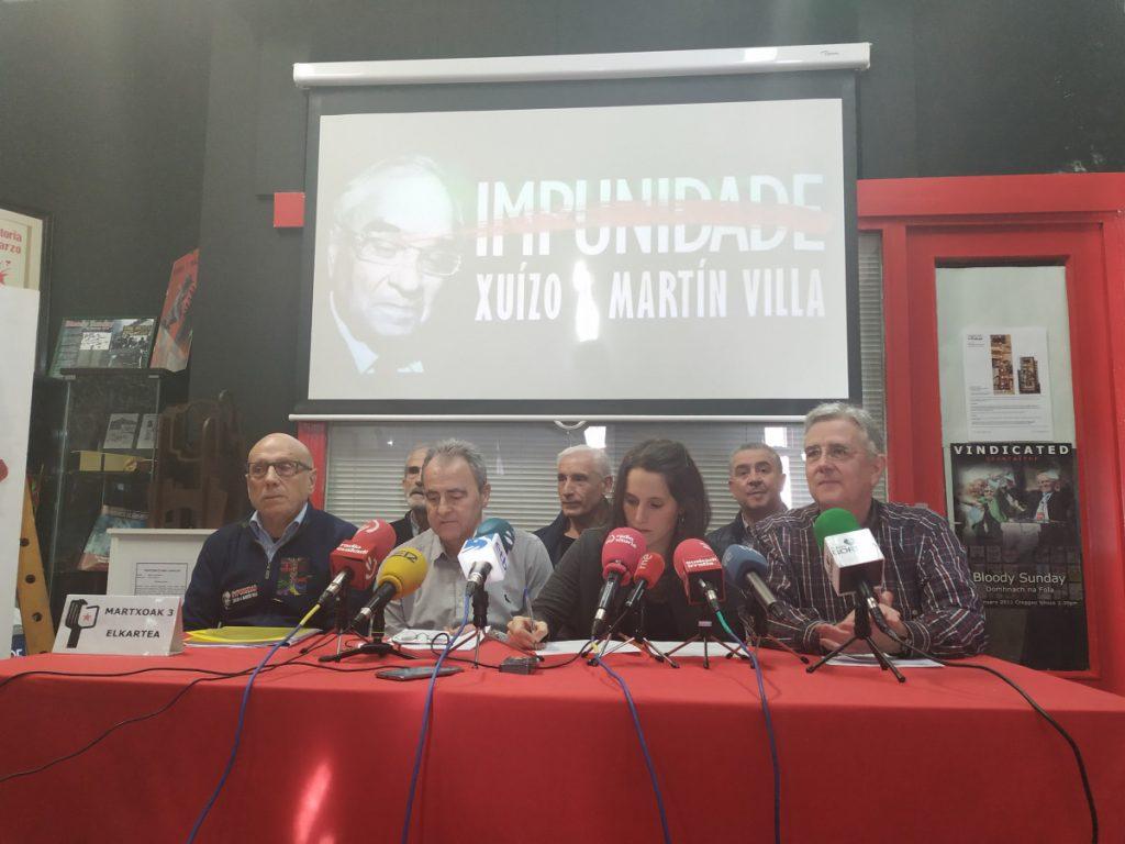 Martxoak 3 celebra la declaración de Martín Villa como persona 'non grata' y anuncia nuevas iniciativas en Naciones Unidas