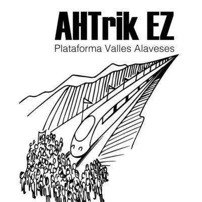 """Hector Argote (AHT-rik EZ Arabako Haranak): """"Guk alternatibak proposatzen ditugu, baina haiek gor bilakatzen dira horien aurrean"""""""