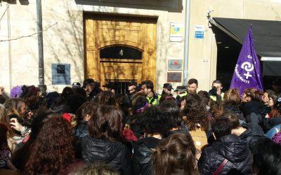 Retenciones e identificaciones en la Huelga Feminista en Gasteiz
