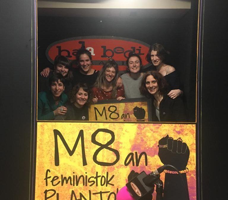 O no será | Martxoak 8ko greba feminista