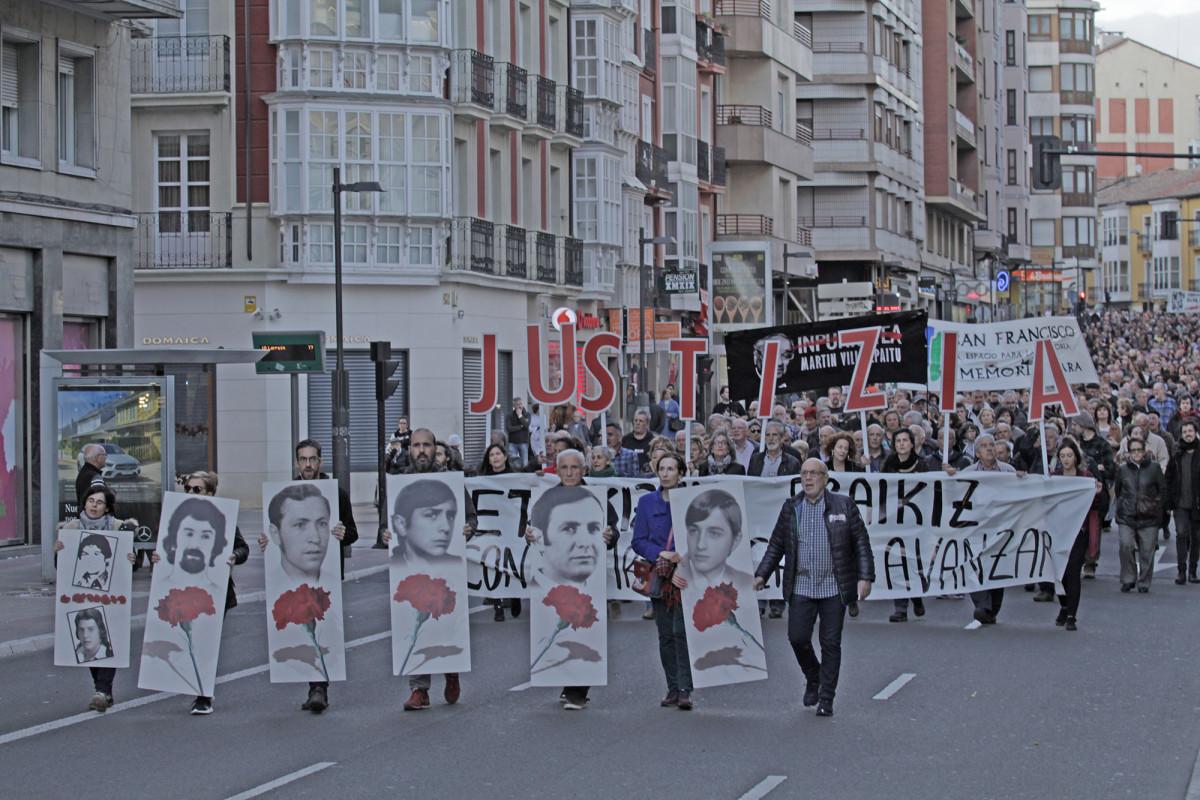 Martxoak 3 denuncia la incoherencia del Gobierno español en materia de memoria histórica