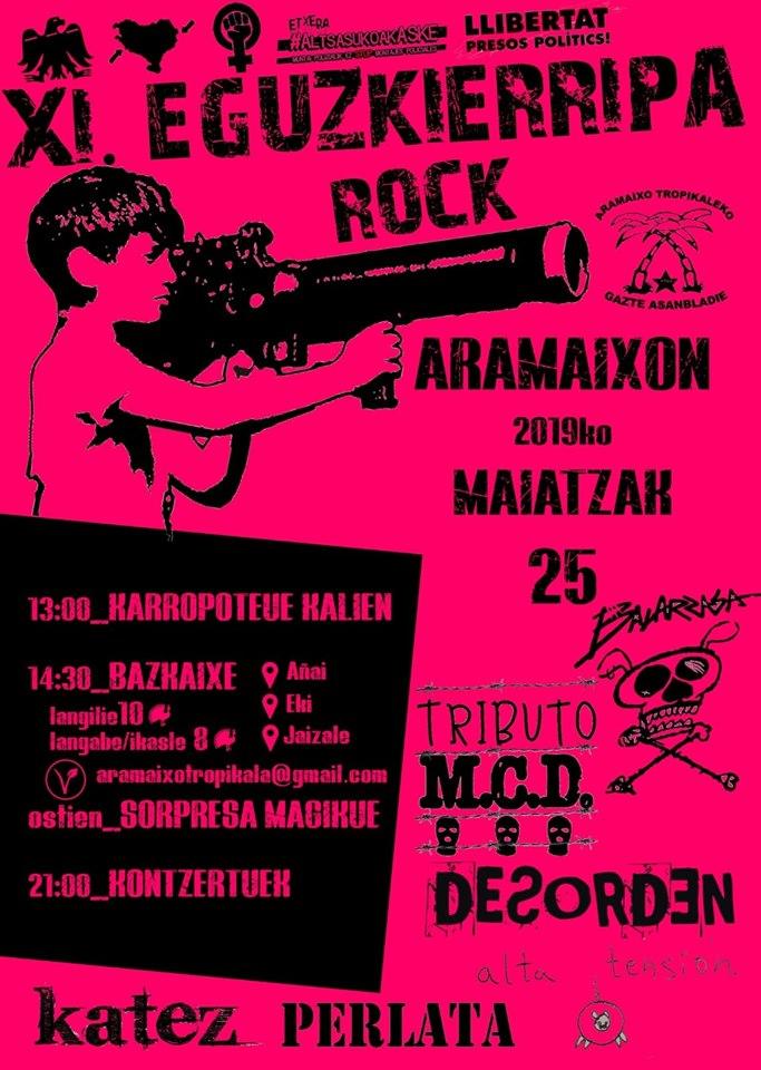 Eguzkierripa  Rock  XI
