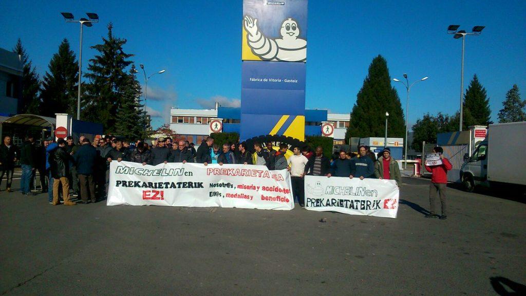 Suspendida la huelga de Ferrovial Metal Michelín