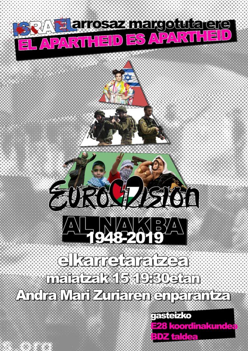 Eurovision  |  Al  Nakba  elkarretaratzea