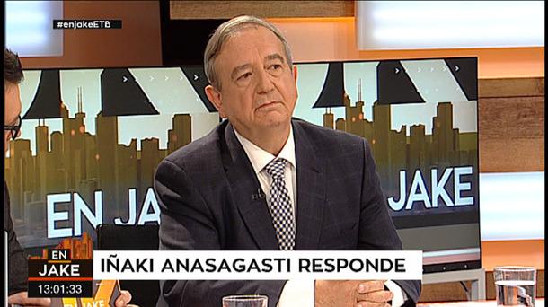 EXCLUSIVA   Iñaki Anasagasti maniobró para cobrar de manera irregular las tertulias de un programa en EiTB