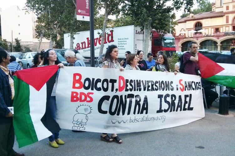 """""""Las  mociones  contra  el  BDS  son  muestra  de  la  debilidad  del  lobby  sionista,  que  busca  en  las  instituciones  la  legitimidad  que  no  tiene  en  la  calle"""""""