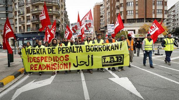 """Itxaso  Torregrosa  (LAB):  """"Gure  ekintza  sindikala  borrokalaria  eta  irabazlea  da  eta  horren  beldur  dira"""""""