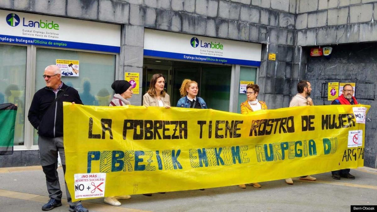 Prestaciones  sociales  |  Nuevo  caso  de  suspensión  injusta  de  la  RGI  por  parte  de  Lanbide