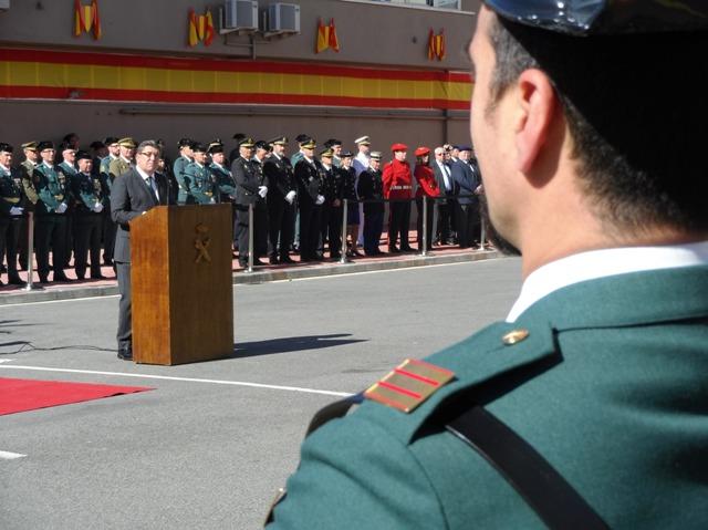 El  Ayuntamiento  de  Gasteiz  cede  un  centro  cívico  a  la  Guardia  Civil  para  un  desfile  militar