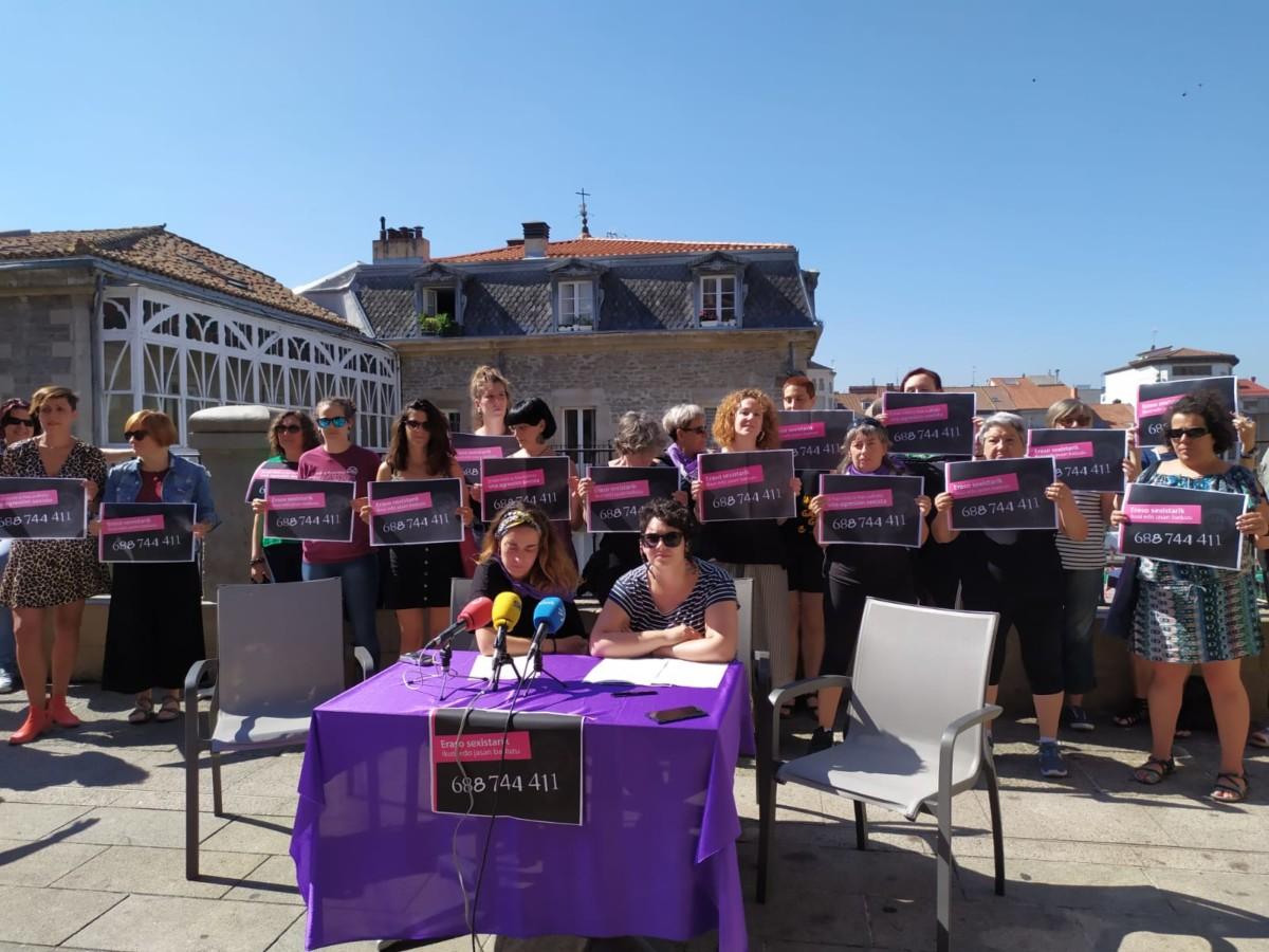 Gasteizko Mugimendu Feministak jaietarako eraso sexisten aurkako protokoloa aurkeztu du