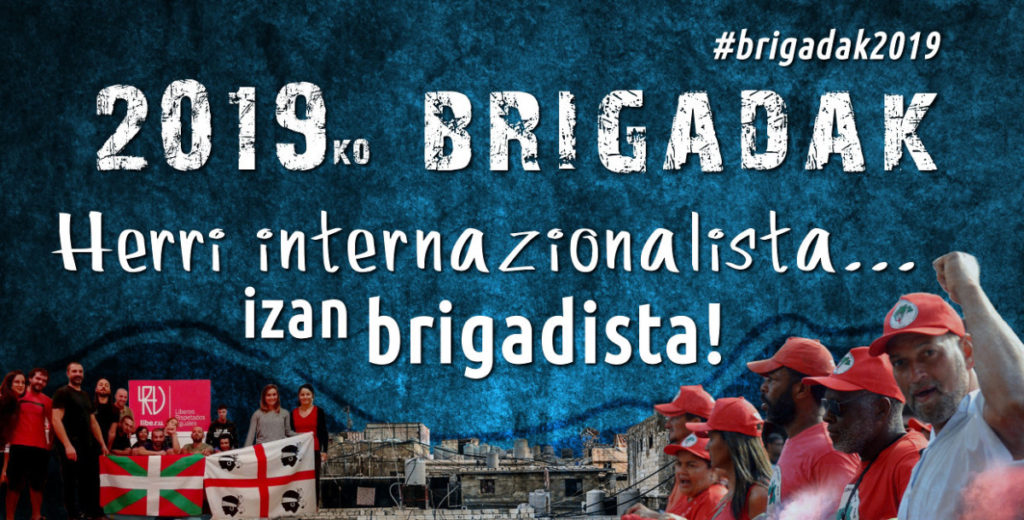"""Gorka Otaduy (Askapenako brigada-kidea): """"Sozialki eta politikoki etsituta dago greziar gizartea"""""""