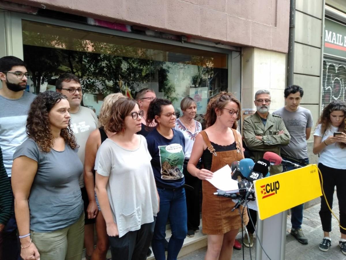Iñigo Robredo (CUP): «Herriari jarraitzen dagoelako onartu du JxCatek desobedientzia, atzean ez gelditzeko»