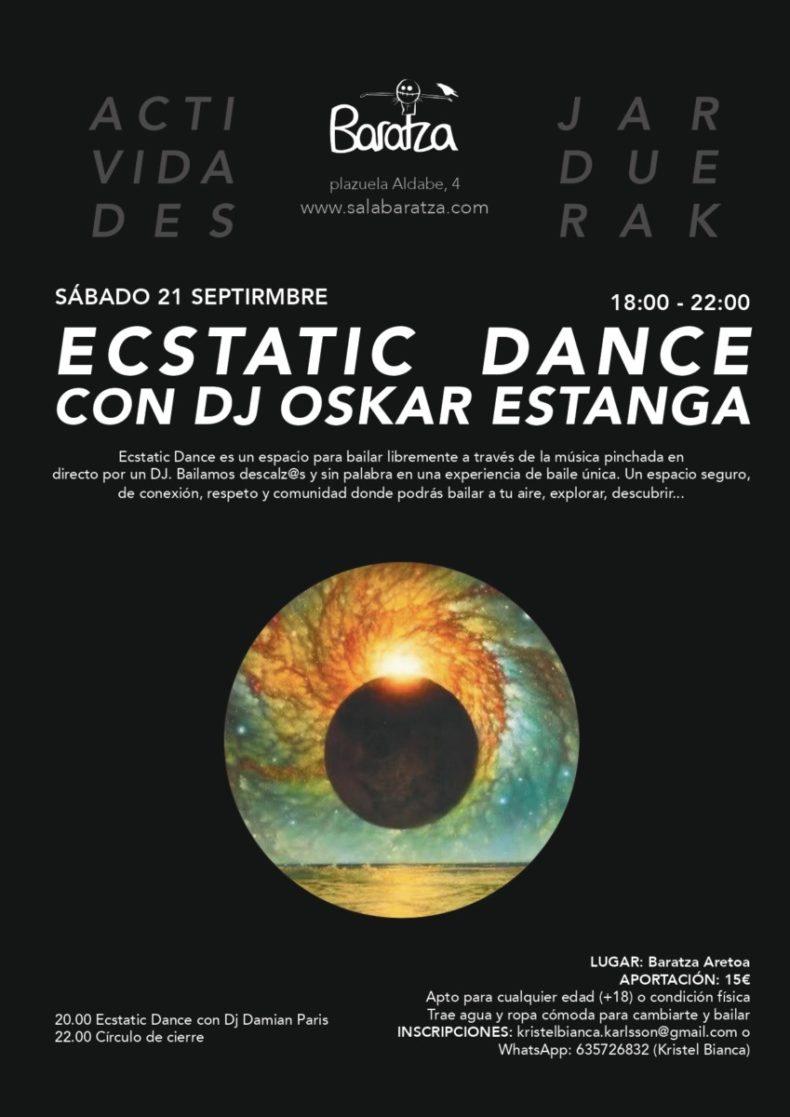 Ecstatic Dance con DJ Oskar Estanga