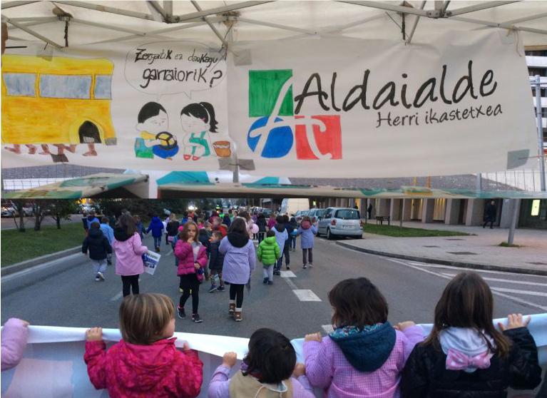 Errekabarri y Aladaialde, dos centros escolares que están tardando más de lo esperado y prometido