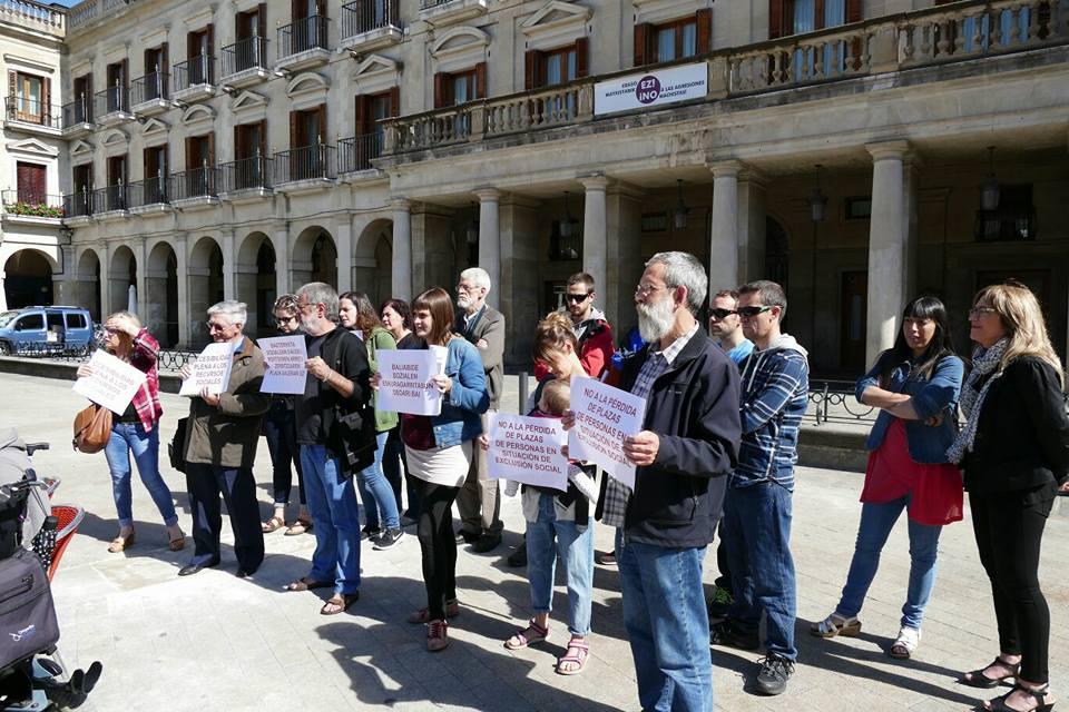 """""""Esta  encuesta  es  muy  amplia  y  nos  encontramos  con  un  aumento  sustancial  de  la  pobreza  en  Euskadi"""""""