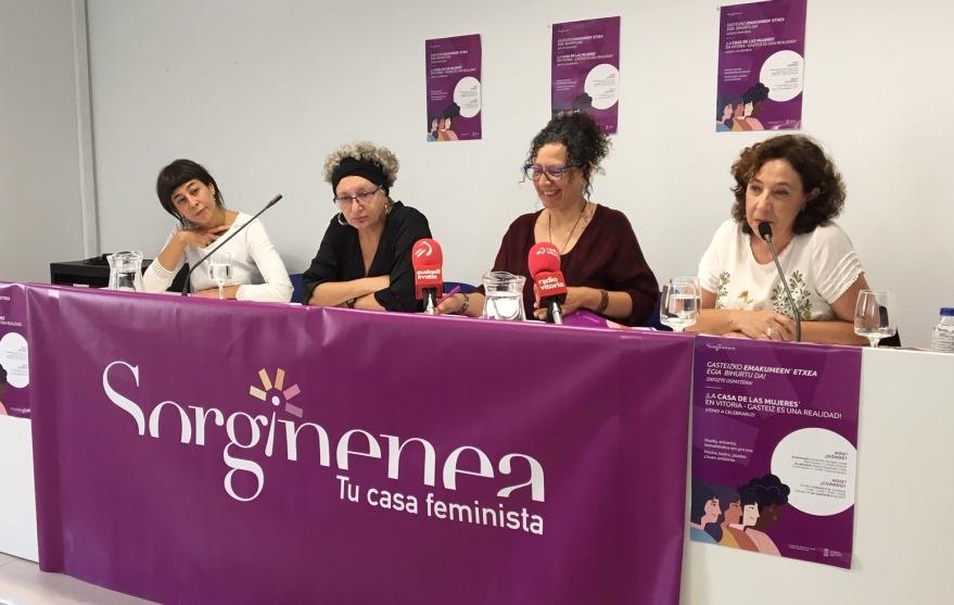"""Elena Cercadillo (Sorgiñenea): """"Politika publikoa herritarrok egin behar dugu eta emakumeon eskubideen alde asko dago egiteke"""""""