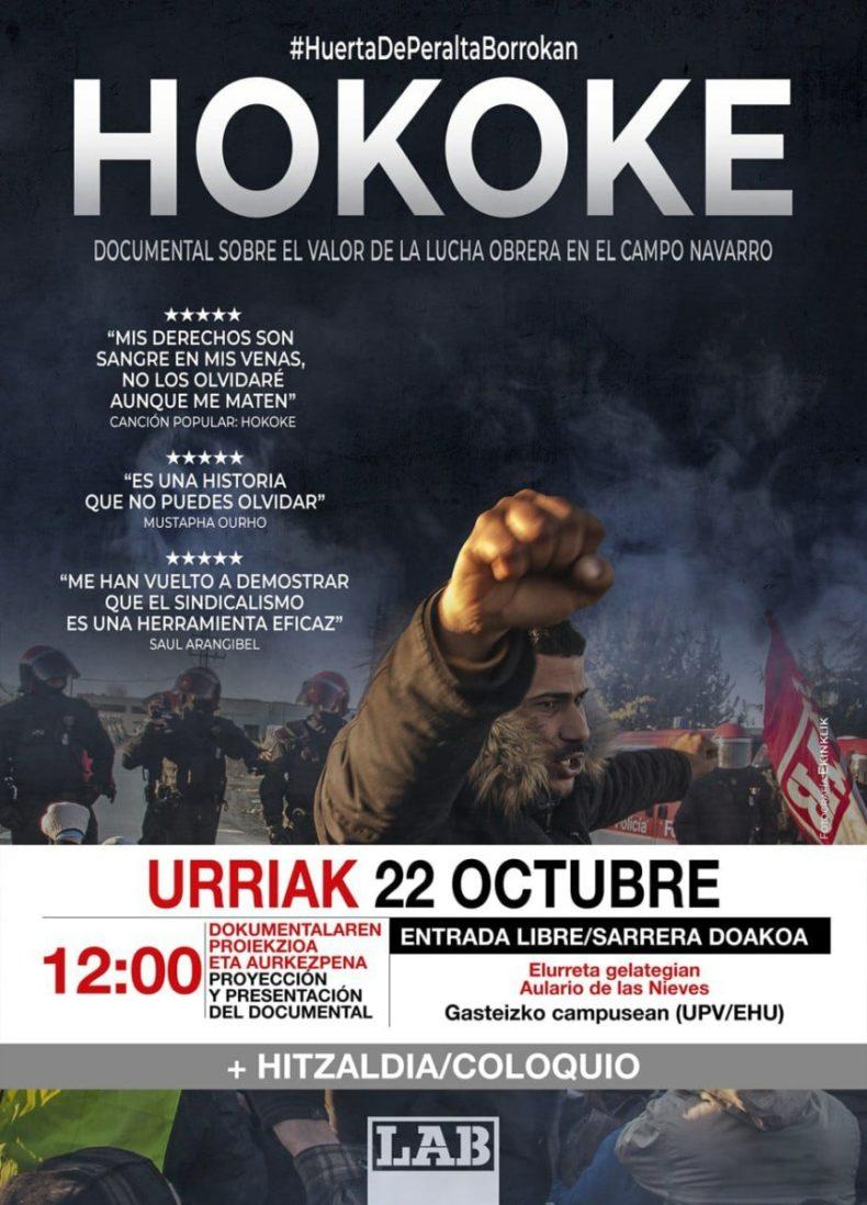 Hokoke, documental sobre el valor de la lucha obrera en el campo navarro