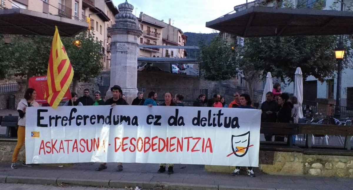 Kataluniaren aldeko mobilizazioek ez dute etenik