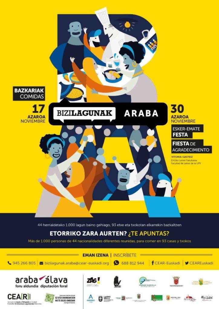 «Bizilagunak es un posicionamiento ciudadano de que apostamos por espacios culturalmente diversos y en contra de la discriminación»