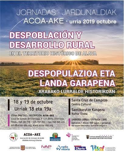 Despoblación y desarrollo rural en el territorio histórico de Álava