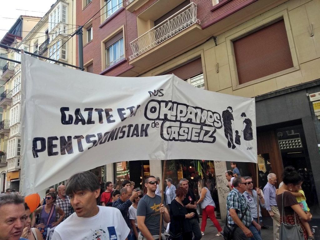 Mugimendu feminista eta gazte mugimendua pentsionistekin batera mobilizatuko dira larunbatean