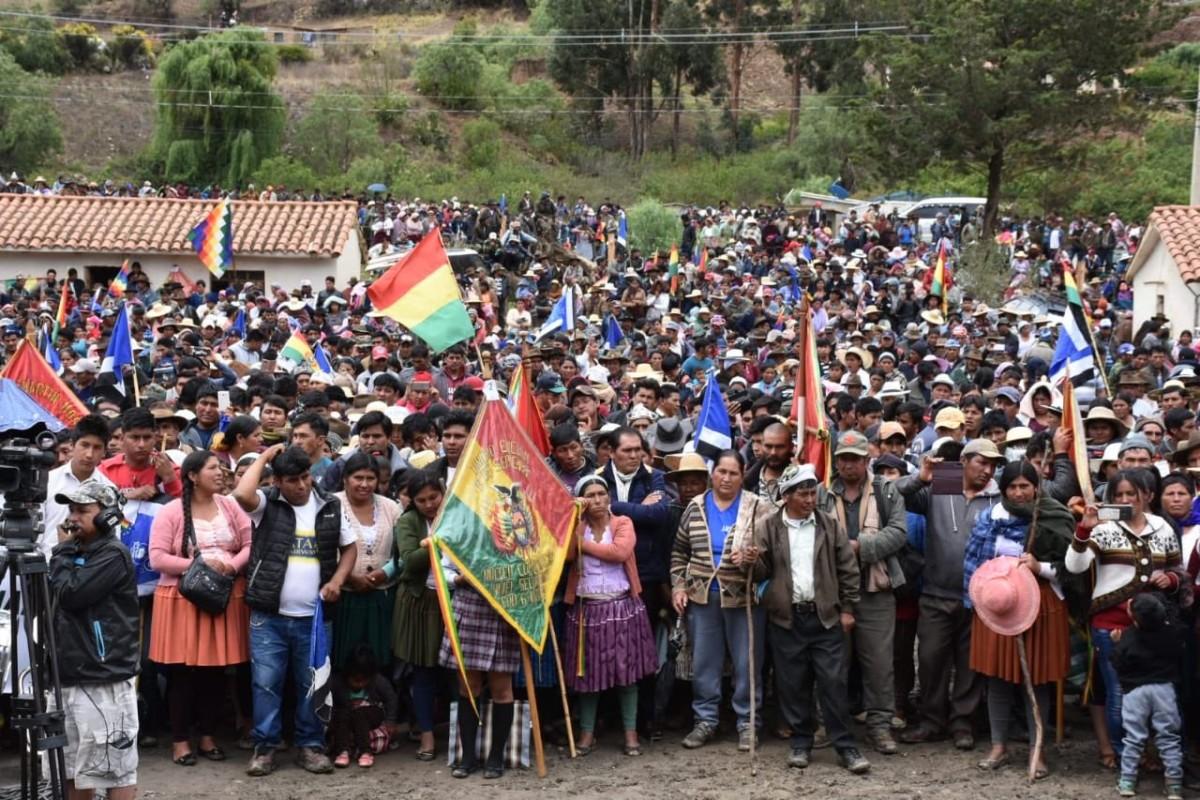 Boliviako estatu kolpea salatzeko elkarretaratzea egingo dute bihar