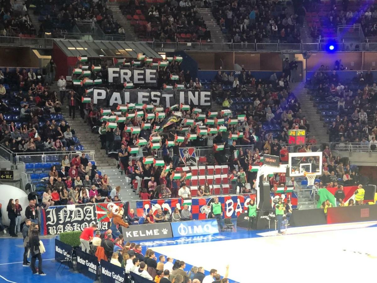 Maccabi Tel Aviv Gasteizen ongi etorria ez dela erakutsi zuten beste behin Baskoniako zaletuek