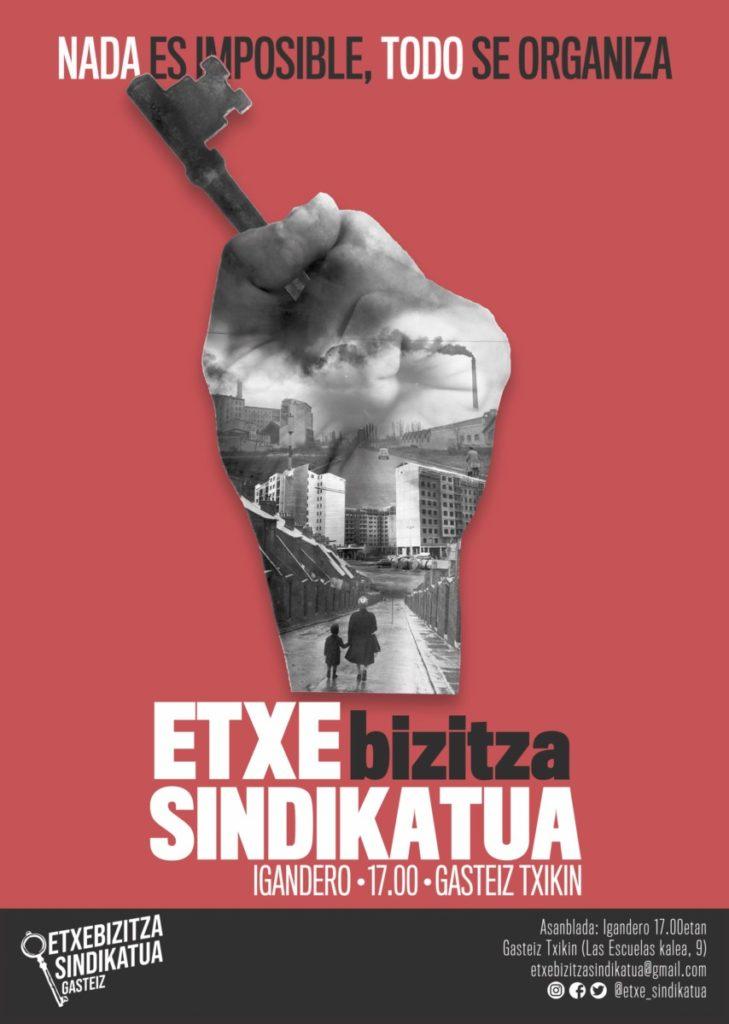 """Karla Berrojalbiz (Etxebizitza Sindikatua): """"Etxebizitza alternatibarik ez badago, ez du zentzurik 20 pertsona kalera botatzeak"""""""