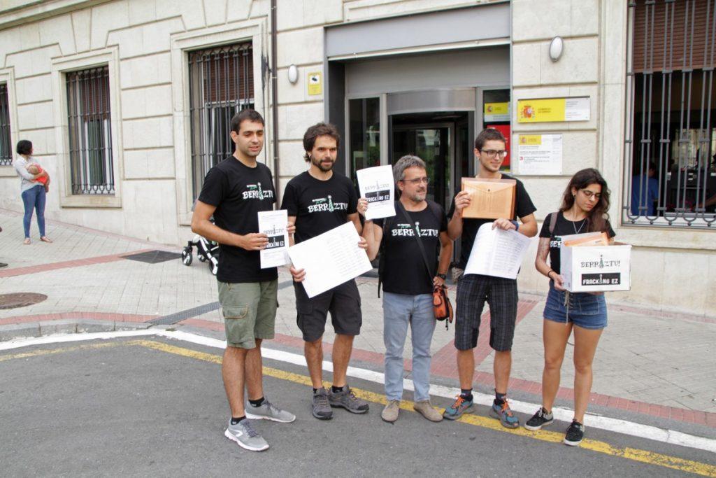 El Ministerio de Medio Ambiente da luz verde a los pozos de gas de Gasteiz