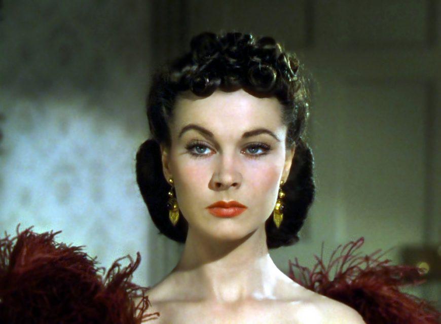 Audiovisuales | Escarlata O'Hara, ¿la primera heroína?