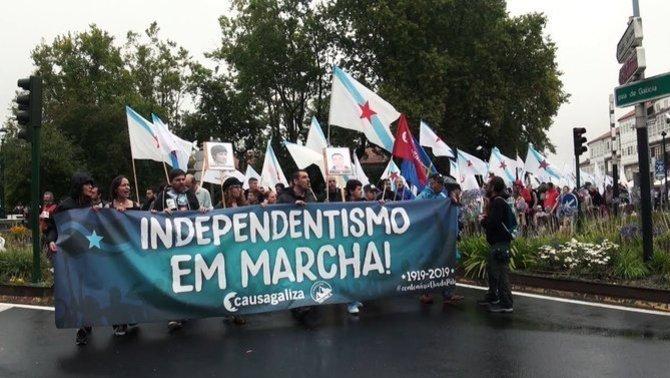 La Fiscalía de la AN se ceba con el movimiento independentista galego