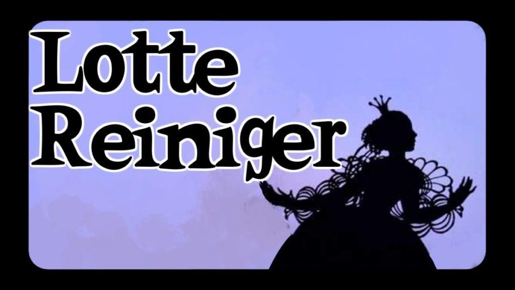 Laboratorio Plat de cine: Las siluetas danzantes de Lotte Reiniger.