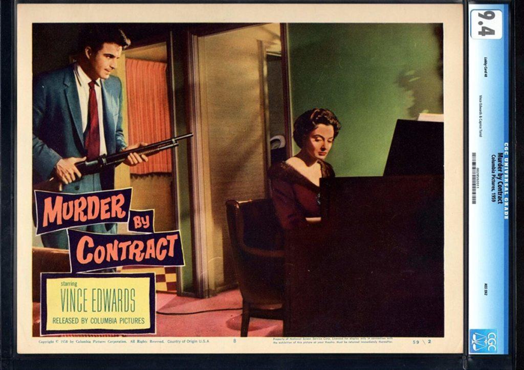 Laboratorio Plat de cine: Murder by contract. Irving Lerner