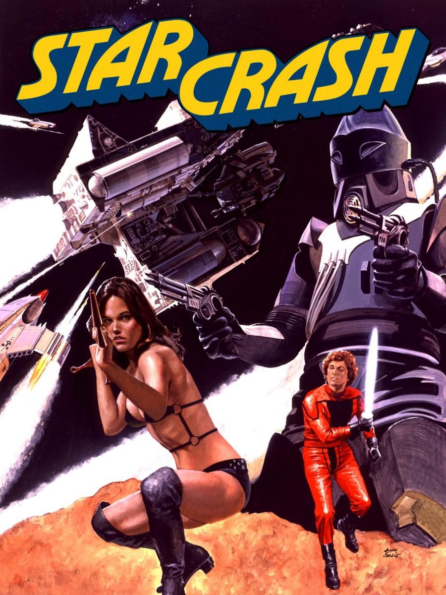 Laboratorio Plat de cine: Star Crash, choque de galaxias, Luigi Cozzi.