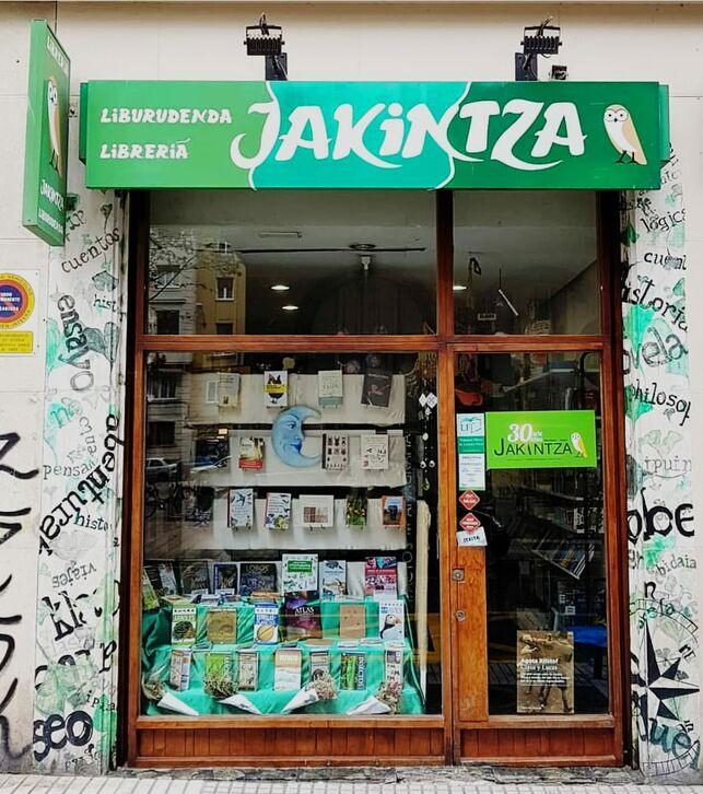 'Jakintza' liburu denda de Gasteiz