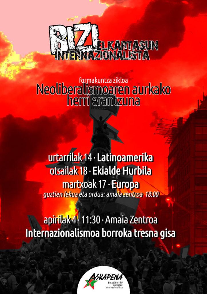 """Xabi Lasa (Askapena): """"Brigadak esperientzia kolektibo gisa ulertu behar ditugu"""""""