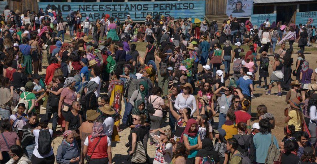 México: Segundo Encuentro Internacional de Mujeres Que luchan