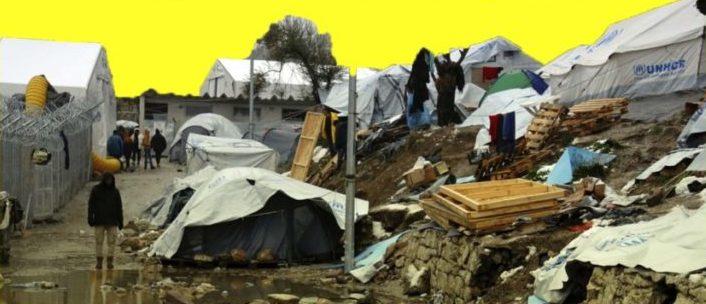 Las personas refugiadas en las islas griegas piden que se conozca su situación