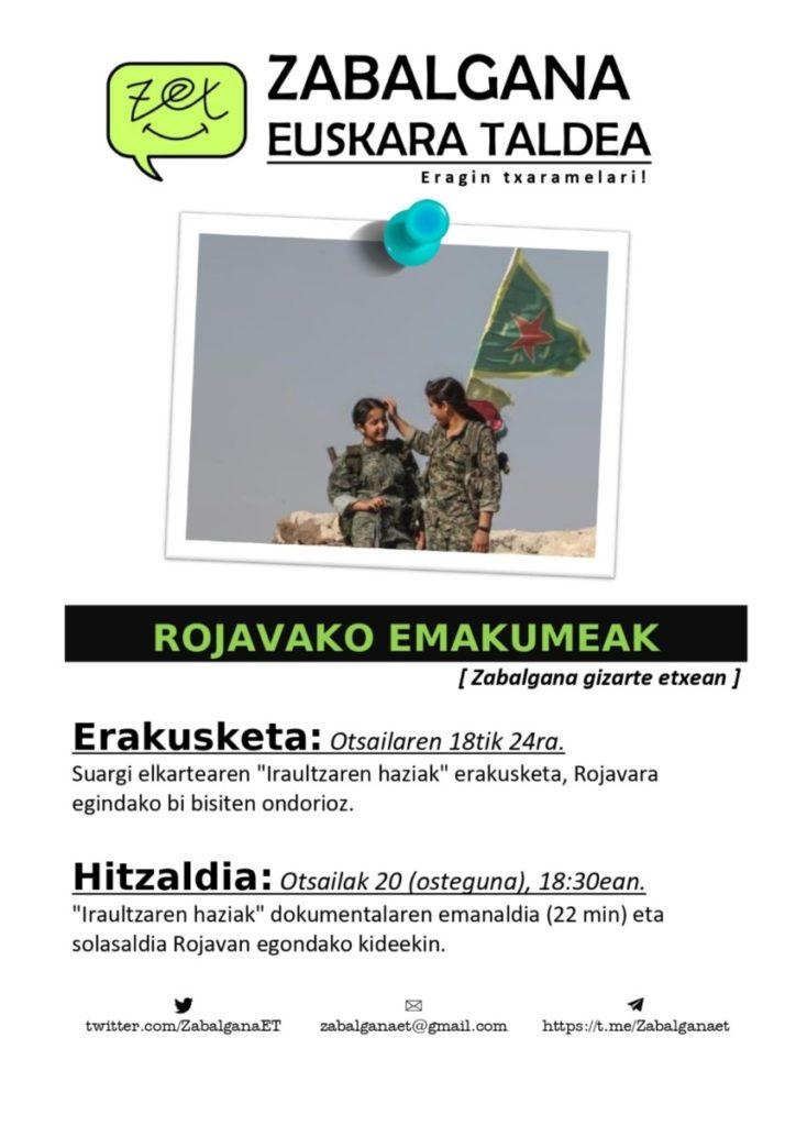 """Alaitz Berriozabalgoitia (Suargi Elkartea): """"Kurdistango emakume zibilen borroka oso ezezaguna da"""""""