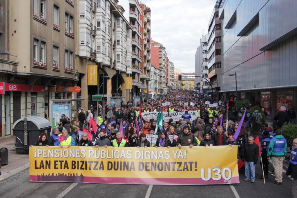 Kaleak berreskuratzeko deia egin du Euskal Herriko Eskubide Sozialen Kartak