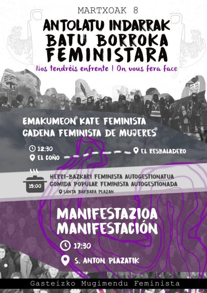 Desde el movimiento feminista llaman a una organización y una lucha constante