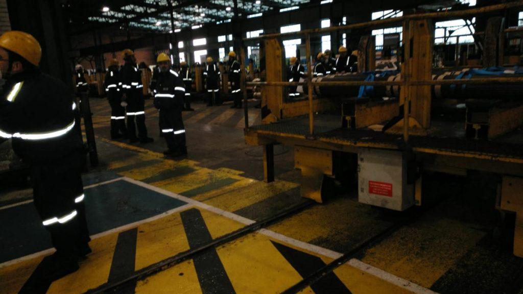 Más plantos en empresas alavesas, las trabajadoras de Tubacex y Sidenor detienen la producción