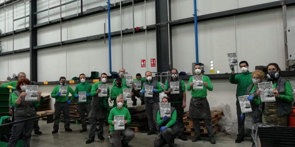 Haserre eguna Euskal Herrian: osasuna, enplegua eta lan baldintzen defentsan mobiliztatzen ari dira langileak